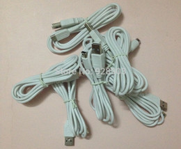 """Wholesale Wholes Video Games - Wholesale-Whole Sale White150cm About 59"""" USB Charging Cable Video Game Player Parts&Accessories For WII U GAME PAD Free Shipping"""