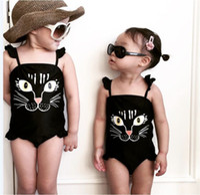 Wholesale Toddler Girls Tankini Swimwear - Wholesale-2016 Girls Baby Swimwear Toddler Swimsuit Queen 2-6 Years Tankini Bathing Bather New for free shipping