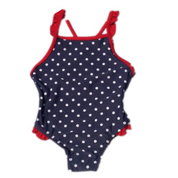 Wholesale Bikini For Year Old - Wholesale-Free Shipping children swimwear one-piece swimsuit sun protection clothing for baby girls 1-8 years old Free shipping