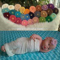 Wholesale Rayon Stretch Knit - Wholesale-5pcs Newborn Baby Stretch Knit Rayon Wrap Photo Props 40cm x 80cm