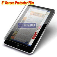 "Wholesale Coby Screen - Wholesale-2PCs*8"" Screen Protector For 8"" Pantech Element  Coby Kyros MID8120  M80006 Tablet"