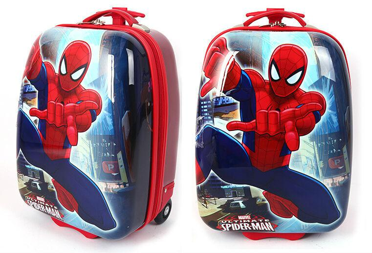 Wholesale Children Marvel Spiderman Rolling Luggage Suitcase/Kids ...
