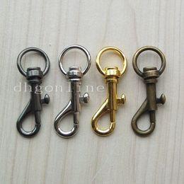 Wholesale Purse Hooks Wholesale - Wholesale-25 PCS SWIVEL CLIP SNAP Hook TRIGGER for Webbing bag lanyard purse 11mm SC11A Color Choice