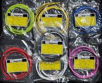 bisiklet frenleri kablosu toptan satış-Toptan-2015 MTB / Yol Bisiklet Bisiklet Attırıcı Fren Hortum / Kablo Seti Kiti Çok Renkler ile Fren Şanzıman Shifter Tel
