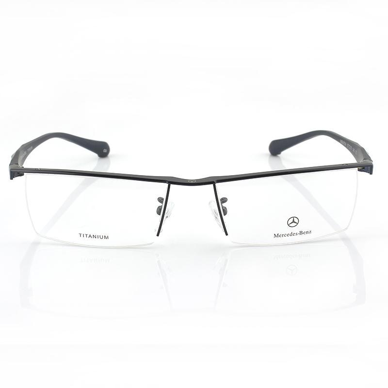 aa026eb4f8 Wholesale-Mb4004 Titanium Eyebrow Frame Myopia Glasses Semi Rimless ...
