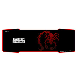 Wholesale Professional Mouse Pads - Wholesale-new arrived hot selling big cloth rubber large long professional gaming mouse pad Red Scorpio pad to mouse