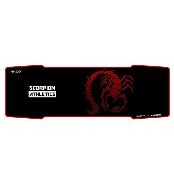 All'ingrosso-nuovo arrivato vendita calda grande panno di gomma grande lungo mouse pad gaming professionale Red Scorpione pad al mouse
