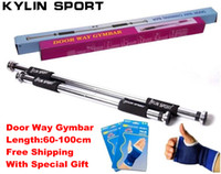 Wholesale Chin Up Bar Door Gym - Wholesale-Free Ship,Home,Household Door InDoor Horizontal Bar GYM,Way GymBar,Way Chinning Bar,Fitness Pullup Bar,Chin Up Bar,60-100cm,Hb01