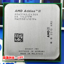 Wholesale Amd Athlon Ii X4 Cpu - Wholesale-For Amd ii Athlon x4 631 quad-core scattered pieces cpu fm1 2.6G 4M cpu quad-core shipping free processor