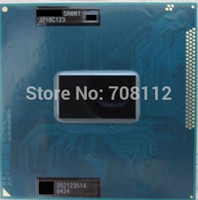 Оптовая Новый Core i3 Mobile I3-3110M SR0N / SR0T4 2,4 ГГц Socket G2 rPGA988B Ivy Bridge Laptop CPU для HM77 HM76 HM75 QM77 набора микросхем