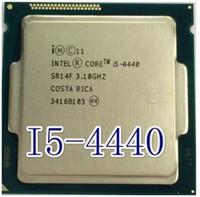Wholesale Motherboard Core I5 - Wholesale-Original Processor desktop for intel Core Quad Core i5 4440 i5-4440 CPU 3.1Ghz 8M  LGA 1150 motherboard free shipping