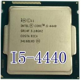 Wholesale Intel Core I5 Desktop - Wholesale-Original Processor desktop for intel Core Quad Core i5 4440 i5-4440 CPU 3.1Ghz 8M  LGA 1150 motherboard free shipping