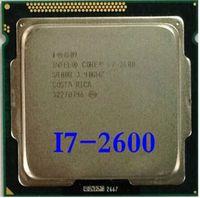 Wholesale I7 Lga 1155 - Wholesale-Original Processor desktop motherboard for intel Core quad core i7 2600 i7-2600 3.4Ghz 8M  LGA 1155 CPU free shipping