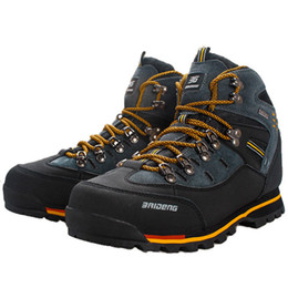 Wholesale Brand Mountain Shoes - Wholesale-2015 new mens anti-skid shoes brand hot sale mountain climbing hiking athletic shoes breathable hiking shoes boots