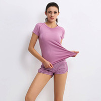 Wholesale- Ladies high quality running Top, summer wear short...