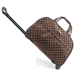 Wholesale-Fashion Rolling Luggage Large Capacity Women Trolley Luggage Waterproof Travel Bags Wuitcase  Women's Handbag