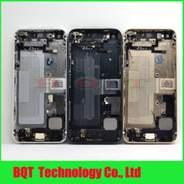 Discount complete housing - Wholesale-Vip Price:For  5 5G back cover housing with flex Complete Full Middle Frame Chassis Housing Bezel Assembly Fre