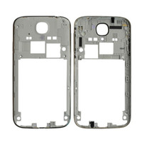 Wholesale S4 Back Plate - Wholesale-S1M# Housing Back Rear Chassis Frame Plate Part for Samsung S4 i9500 White