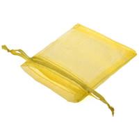 sipariş ipliği toptan satış-Toptan-Hottest 7 * 9 cm Düz renk ipek inci iplik çanta / takı aksesuarları saklama çantası 1 adet / grup Damlama Sipariş Desteği
