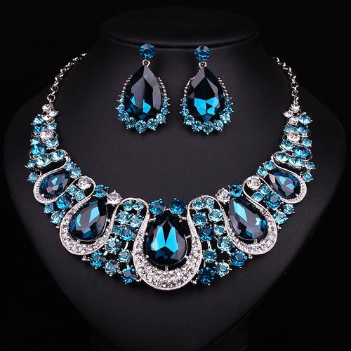 Wholesale Fashion Brand Indian Jewelry Statement Choker Necklace