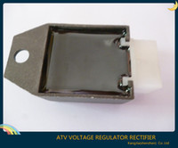 Wholesale Scooter Regulator Rectifier - Wholesale-1pcs new 12v voltage regulator rectifier 50cc 70cc 90cc 110cc 125cc 150cc for mopeds atv scooter go karts