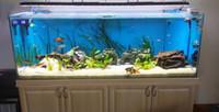 Wholesale Programmable Aquarium - Wholesale-Fresh water tank! 60w  24'' programmable aquarium led lamps for freshwater fish,sunrise lunar cycle simulator daisy-chain