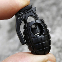 Wholesale printed shoelaces wholesale - Wholesale-Free shipping 60Pcs Lot Tactical Footwear Hiking Boots Grenade Shoelace Tightening Buckle Non-slip Buckle Shoelace Buckle Clip