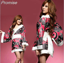Wholesale Sexy Costumes For Role Play - Wholesale-New Arrival Halloween Costumes for Women Cosplay lolita kimono costume Role-playing sexy girl dress sauna suits female uniforms