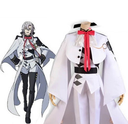 Wholesale Violet Movie - Wholesale-Seraph of the End New Anime Ferid Bathory Astro Violet Vampire navy outfit cosplay costume set
