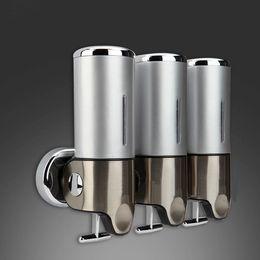 banheiro lotion steel 304plastic home washroom soap sanitizer bathroom shower shampoo dispenser discount shower