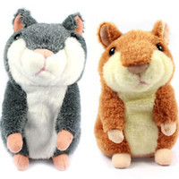 Speaking kid Toy Russian Talking hamster wooddy time stuffed...