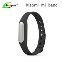 Wholesale Miui Stock - Wholesale-Original Xiaomi Mi Band Bracelet Smart Miband Bracelet for Xiaomi MI4 M3 MIUI Monitor Fitness Sleep Quality In Stock