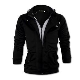 Wholesale Mens Cardigan Styles - Wholesale-Free Shipping 2015 HOT Men outwear Mens Casual Fashion Hoodie Jacket Coat men clothes cardigan style jacket men's jacket XXXL