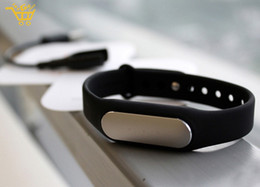 Wholesale Miui Stock - Wholesale-IN STOCK!! 100% Original! 2015 Newest Xiaomi MiBand , Smart Xiaomi Mi band Bracelet for Xiaomi MI4 M3 MIUI for Android for IOS 8