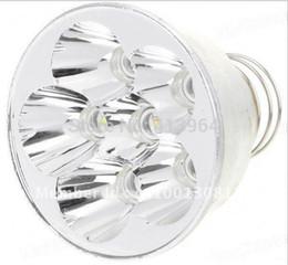 Wholesale Max Lumen Led Light - Wholesale-6*Cree Q5 WB 5-Mode 1200-Lumen White Light Drop-in LED Module (52.7mm*42mm 8.4V Max)