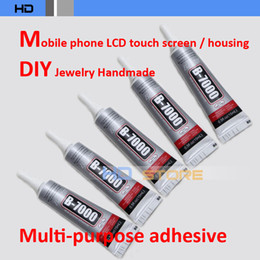 Toptan Satış - 10pcs-lot 15ml B-7000 DIY Aracı cep telefonu LCD Dokunmatik Ekran orta Çerçeve konut Tutkal Çok amaçlı yapıştırıcı B7000 nereden