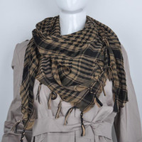 Wholesale Arab Palestine Scarf Kafiya - Wholesale-Free shipping Fashion Women Arab Shemagh Keffiyeh Palestine Scarf Shawl Kafiya Hot 12 Colors hot sale!!!