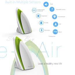 Wholesale Intelligent Video Systems - Wholesale-Broadlink A1 E-air Smart Air Quatily Detector Testing smart Home Automation Air Humidity PM2.5 Intelligent Home Systems WIFI