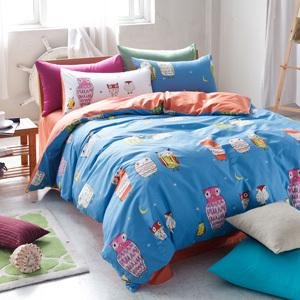 Wholesale Bedding Sets King Queen Size Double Cotton Owl Pattern