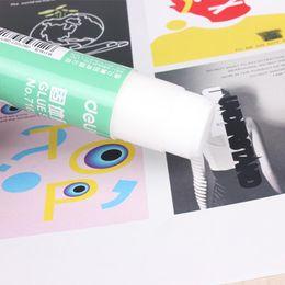 Wholesale Glue For Photos - Wholesale-10PCS Lot Deli 7103 Large 36g High Viscosity PVA Glue Stick For Paper Art Printing Card Photo Stick