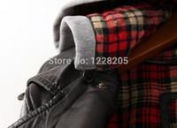 Wholesale Leather Hoodie Women - Wholesale-women leather jacket with hoodie windbreaker zipper coats motorcycle PU faux leather hooded parka coat for lady full sleeve