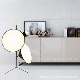 Wholesale Nordic IKEA Triceps Horn Rock Hall Living Room Floor Lamp Modern Post UK