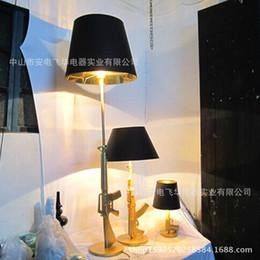 2017 Touch Lamp Ikea Wholesale Gold Plated Pistol I Den Living Room Floor Bedroom