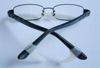 ganchos de silicona para templo al por mayor-Al por mayor-1 par de gafas de silicona ganchos para la oreja anteojos Grip antideslizante Temple Holder gafas coloridas zapato