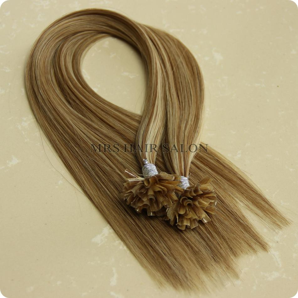 Wholesale P12 613 Nail Tip Hair Extensions Fusion Keratin Use Best Ital Glue For Fashion Women Feathers