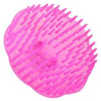 щетка для головы оптовых-Wholesale-2015 New Plastic Soft Hair Wash Brushes Head Scalp Massager Comb Cleans For Bath Relax Healthy