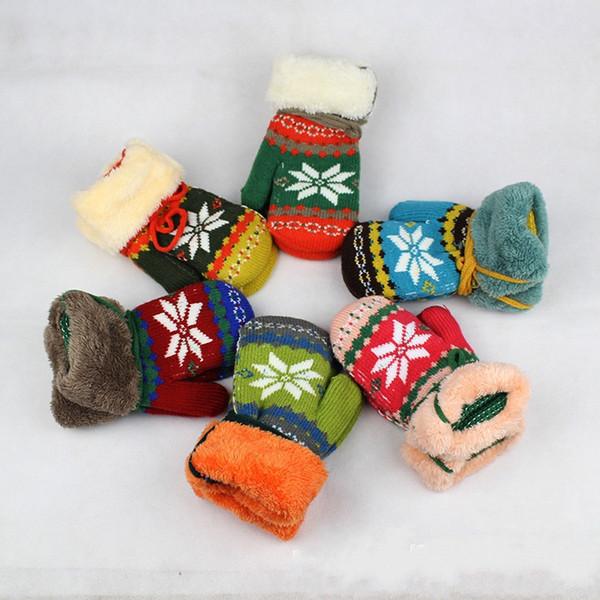 Wholesale Warm Keep Soft Children Gloves Winter Baby Gloves