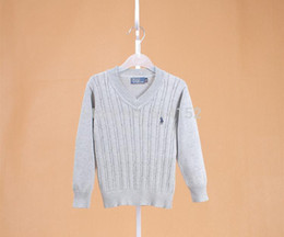 Wholesale Designer Kids Clothing - Wholesale-2015 New Arrival children sweater designer boys girls sweater kids pullovers for 80-120cm children clothing child clothes