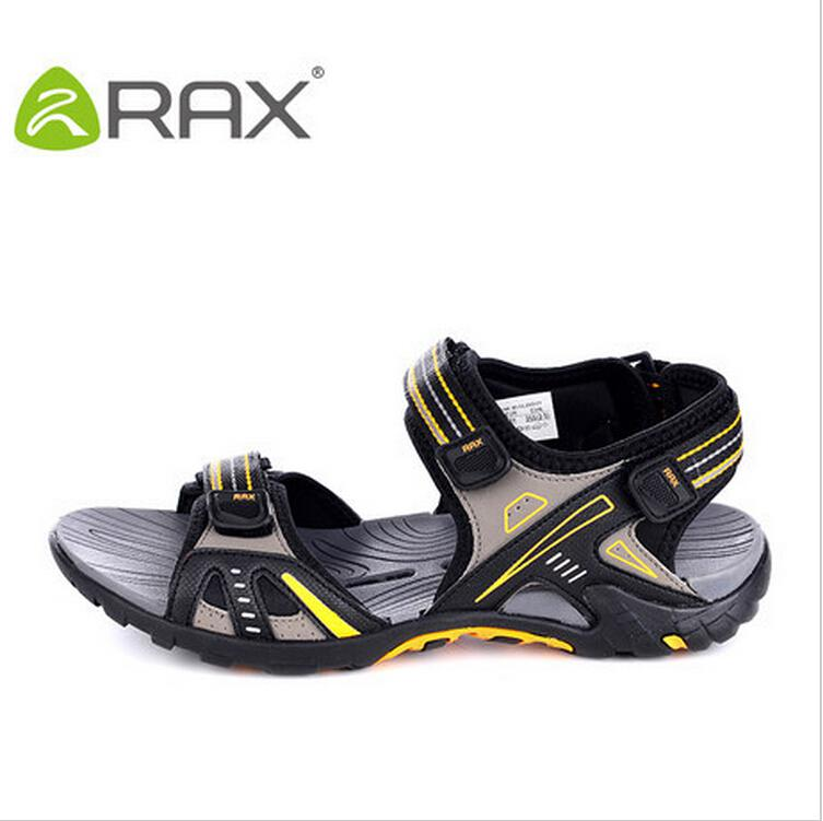 Wholesale Rax Summer Man Outdoor Sandals Camping Breathable Ultra Light Walking Shoes Wading MenS Black Green Eur39 45 Wedge Sneakers