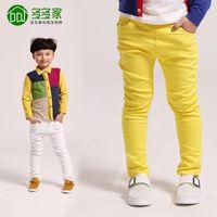 Wholesale Male Fashion Casual Pants - Wholesale-children's fashion 2015 spring child trousers casual pants cotton male boys kids brand for boy